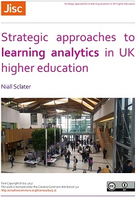 Strategic approaches to learning analytics in UK higher education